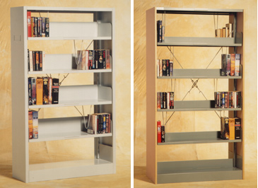 Avios Office Furniture Library Shelving Library Trolley