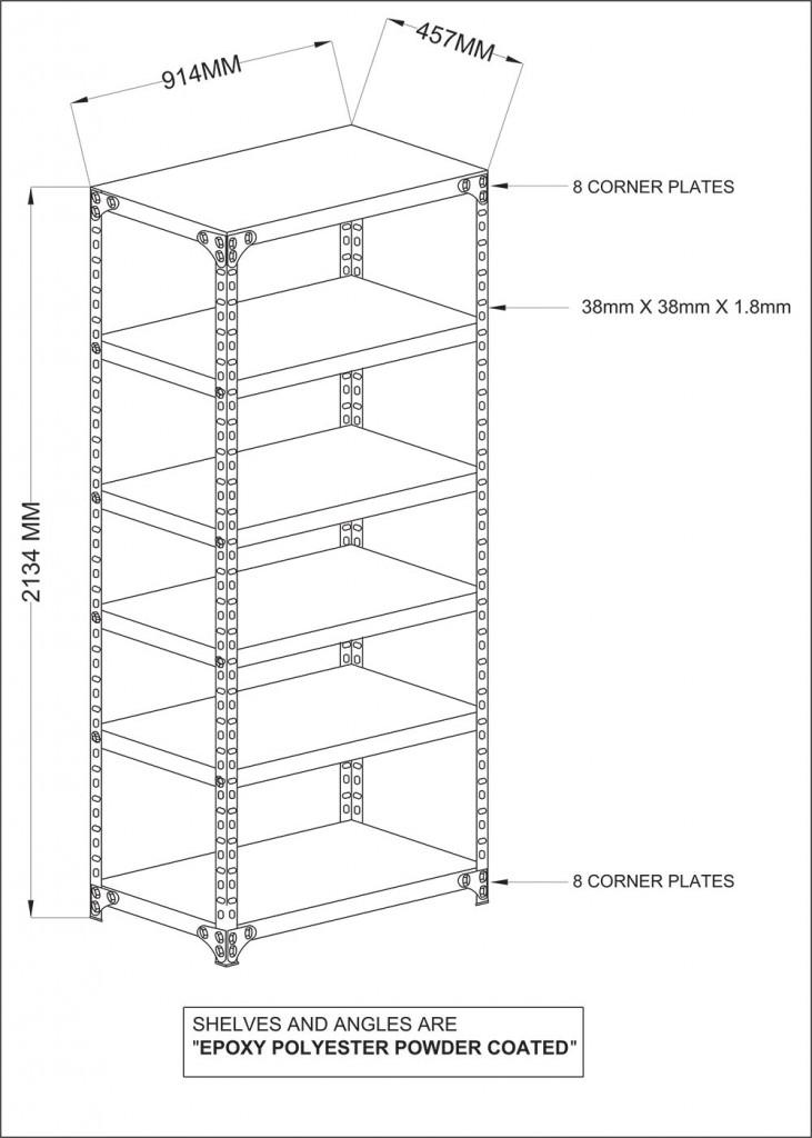 Iron Angle Rack & Shelving   Avios