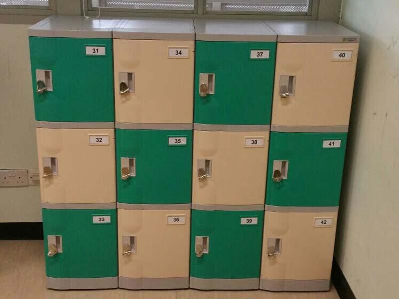 5 Tiers Plastic Abs Lockers Avios