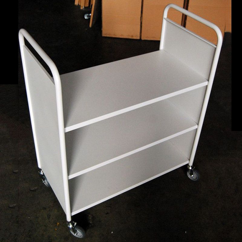Single Sided Library Trolley